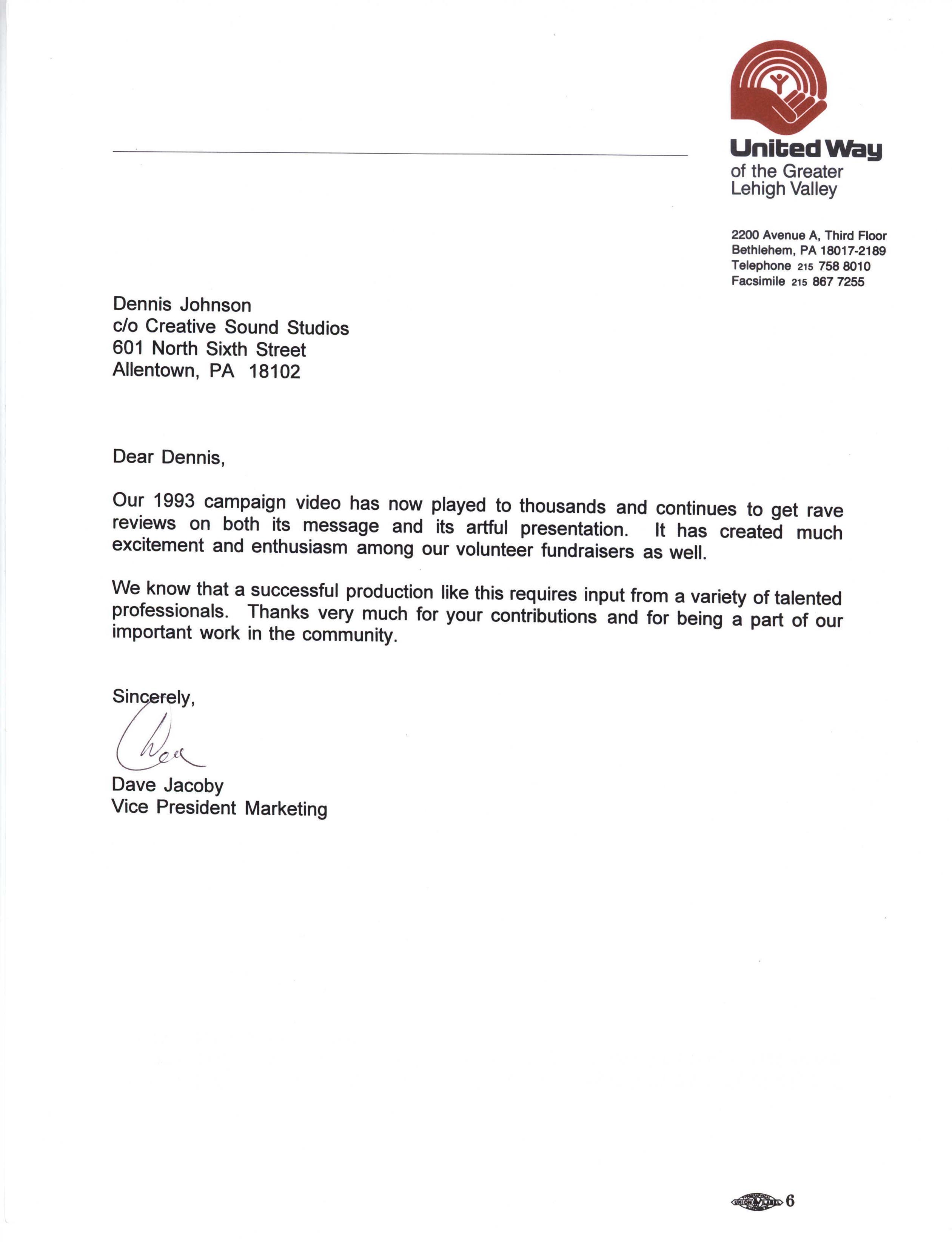 United-Way-campaign-letter-98